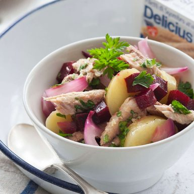 Mackerel Potatoes and Beets Salad 1100x683 (01) | Delicius