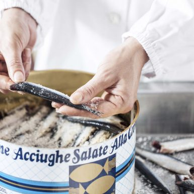 Salted Anchovies Packaging | Delicius