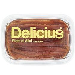Filetti di Alici in Olio di Oliva 60g LineaClassica | Delicius