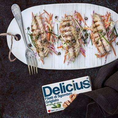 Confezione Filetti di Sgombro Grigliato Olio di Oliva | Delicius