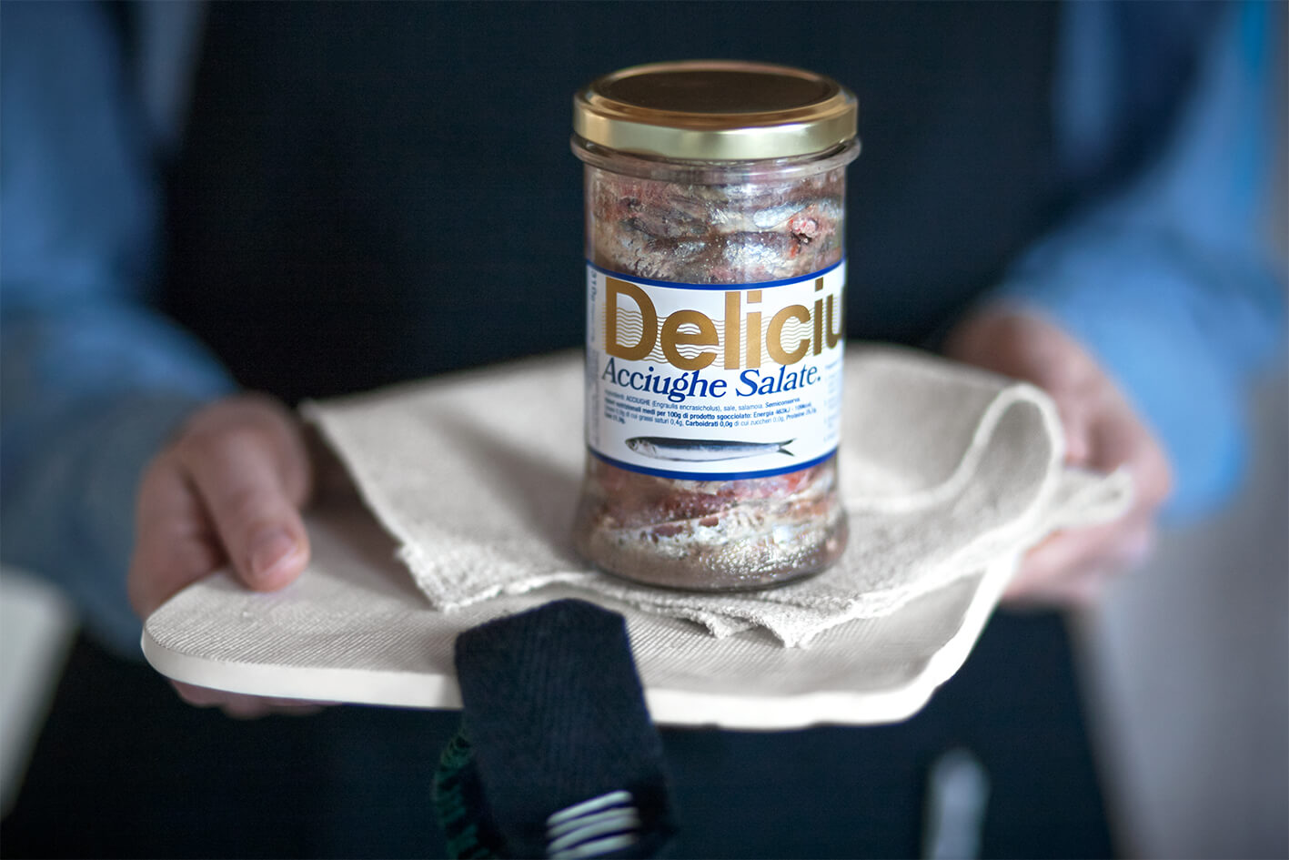 Salted Anchovies | Delicius