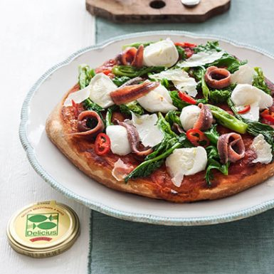 Pizza Turnip Top Anchovy Fillets 410x410 (01) | Delicius