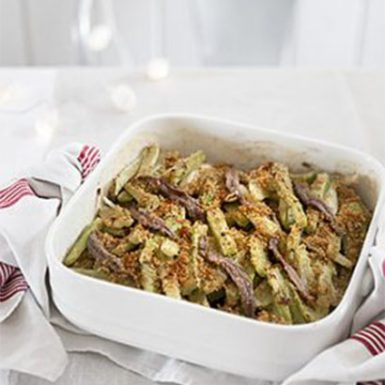 Celery Gratin with Anchovies 410x410 (01) | Delicius