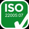 Certificazione ISO 22005:07 | Delicius