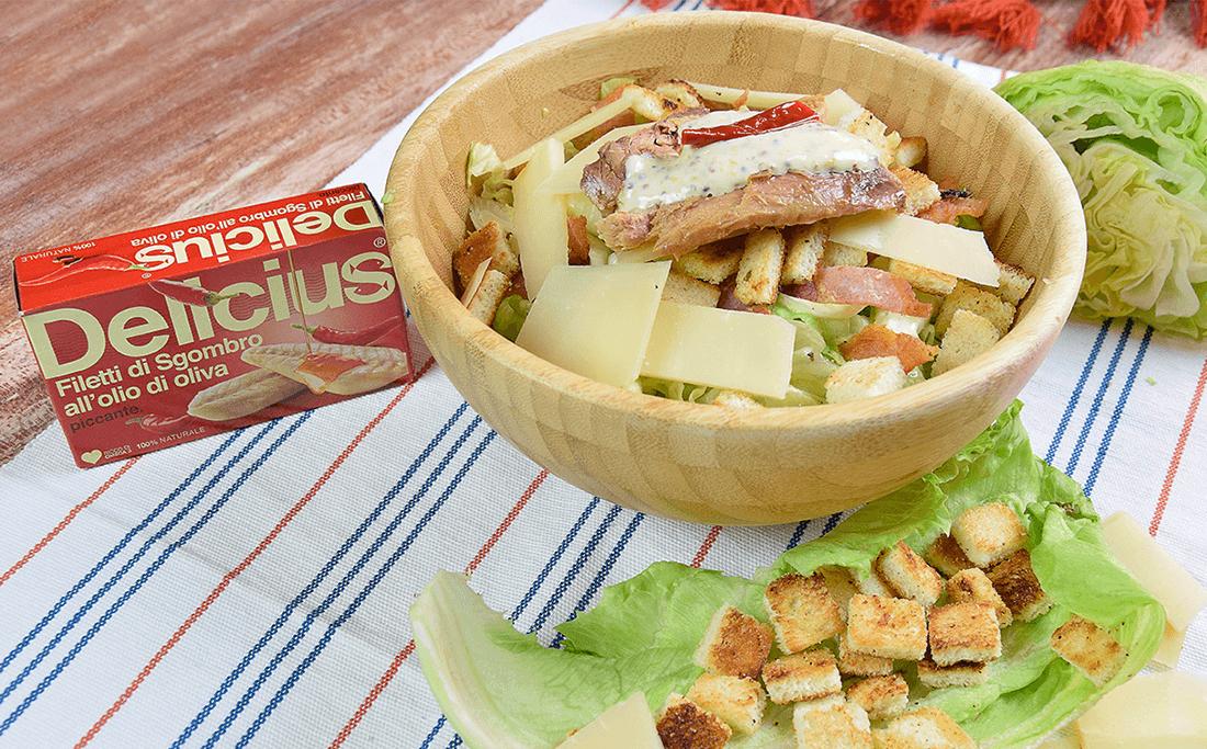 Delicius Salad con Sgombro