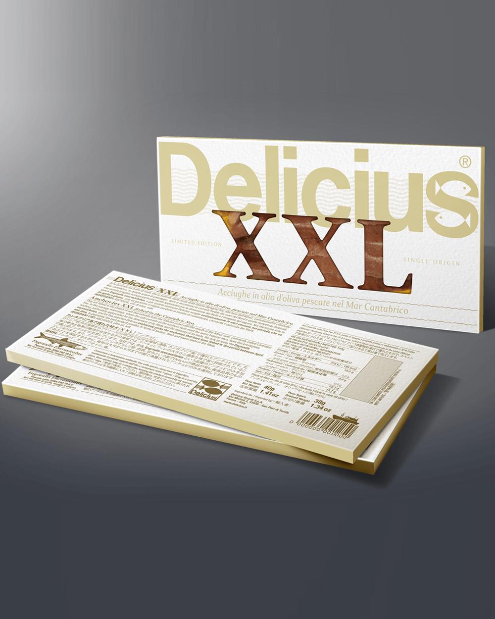 XXL Delicius - Acciughe Mar Cantabrico