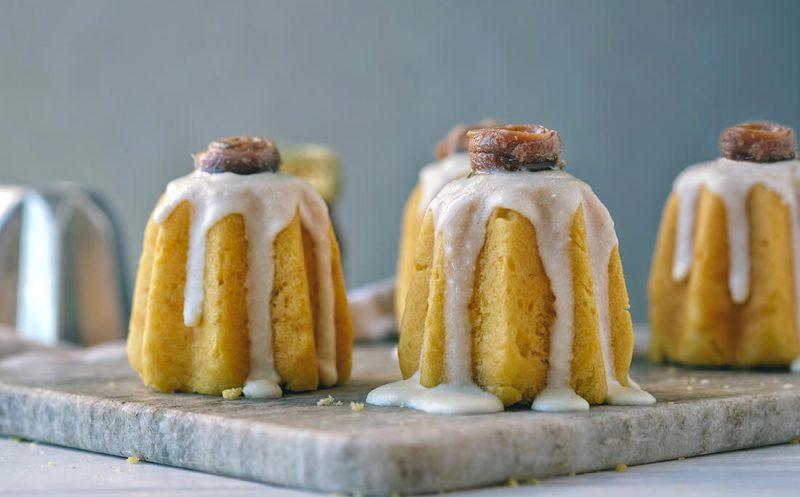 Small Salted Pandori with Ricotta, Delicius Double Anchovies and Parmigiano Reggiano Cream