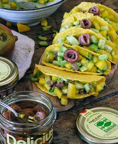 Tacos Avocado e Mango
