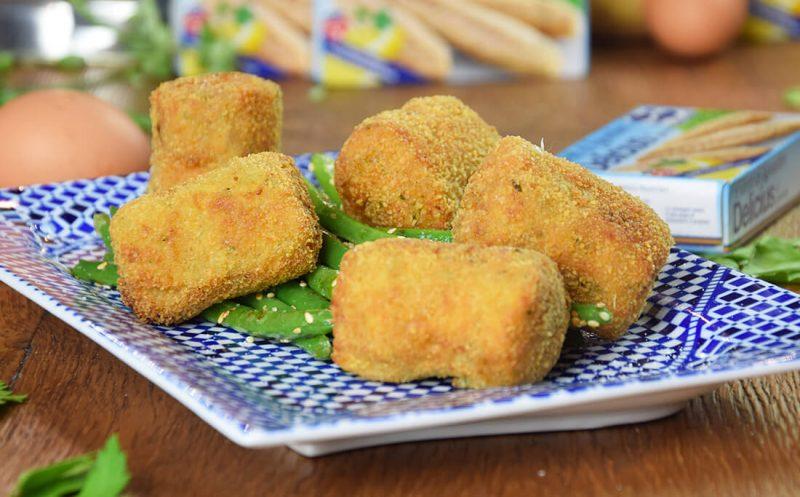 Potato and Mackerel Croquettes