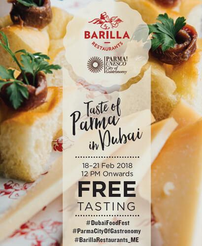 Taste of Parma in Dubai