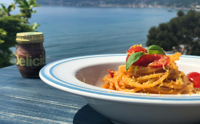 Lello Spaghetti with Delicius Anchovies in olive oil