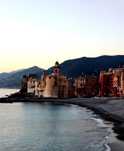 Winter sea stories: Camogli e la Baia del Silenzio