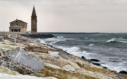 Winter sea stories: Caorle e Grado
