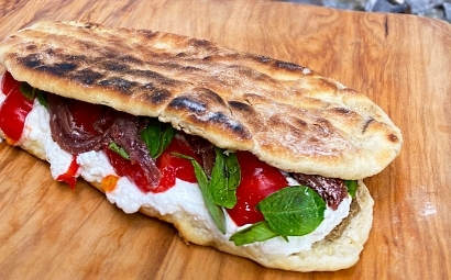 Flatbread alla ligure