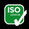 Certificazione ISO 22005:08| Delicius