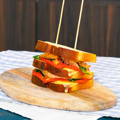 Club sandwich con Sgombro di Chef in Camicia